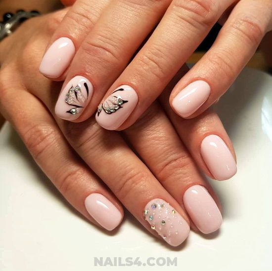 Adorable And Easy Manicure Trend - nail, nailstyle, sweet, beauty