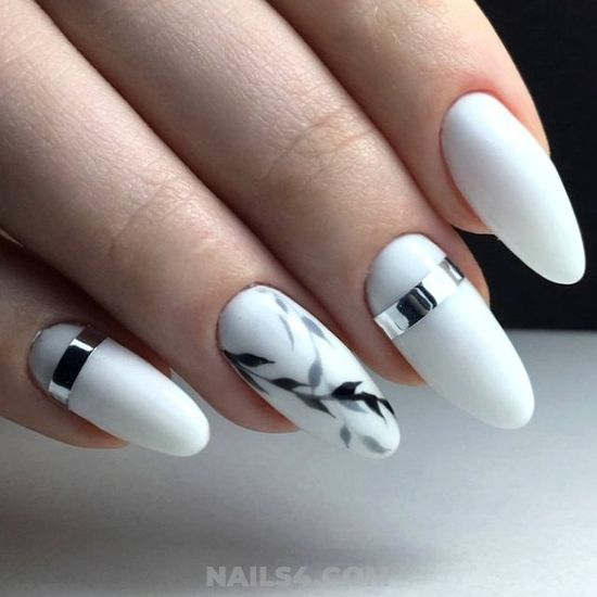 Adorable Easy Gel Nails Art Design - artful, fashion, diynailart, nails