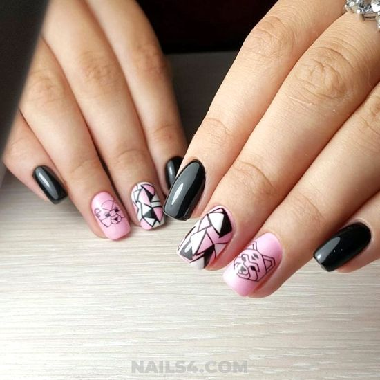 Adorable Stately Acrylic Nail Ideas - getnails, teen, nails, nailartdesign