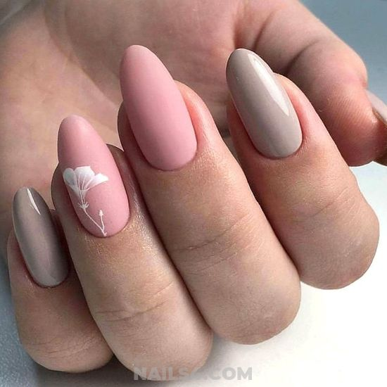 Adorable & Trendy Gel Nails - idea, diynailart, nail, diy, glamour