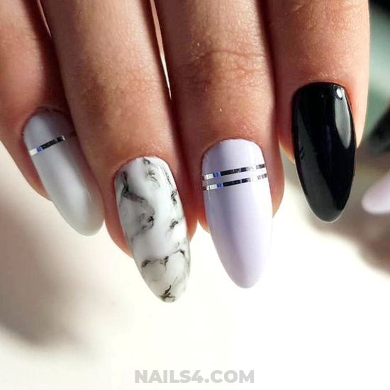 Awesome Orderly American Gel Nails Idea - simple, nails, beautyhacks, design