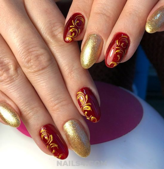 Beautiful And Easy Idea - ideas, top, cool, nail, nailartdesign