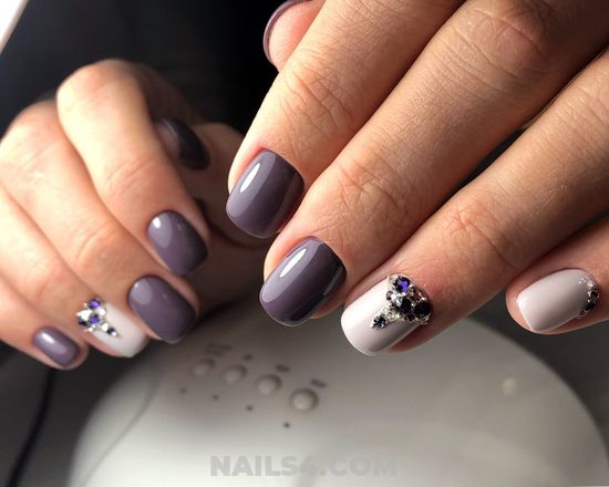 Beautiful And Handy Acrylic Manicure Idea - nail, best, art, love