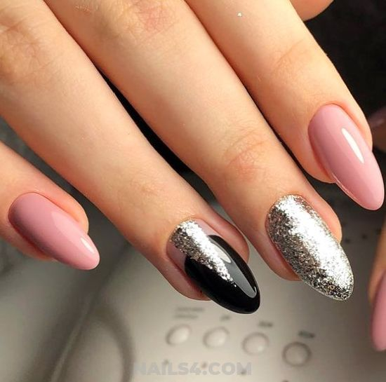 Best And Loveable Gel Nails Ideas - gel, love, cool, nail, nailstyle