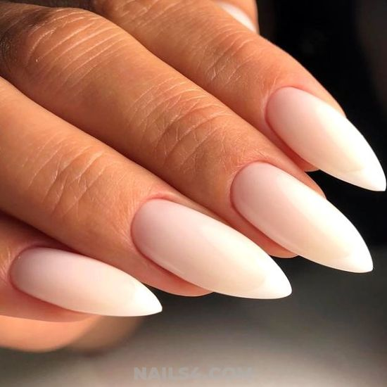 Best & Glamour French Gel Nail Art Ideas - beautytutorial, extremelycute, nail