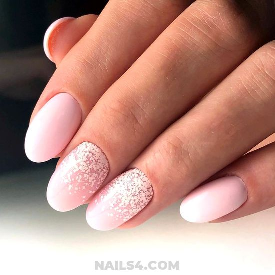 Birthday And Gorgeous Gel Manicure Design - nail, perfect, graceful, ideas
