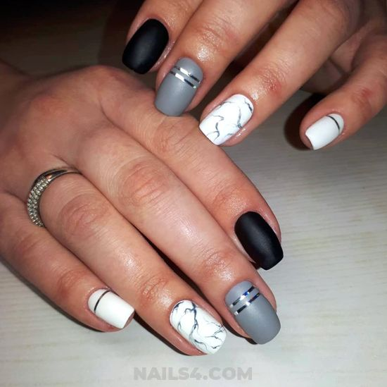 Birthday And Loveable American Gel Nails Art Design - inspiration, naildesigns