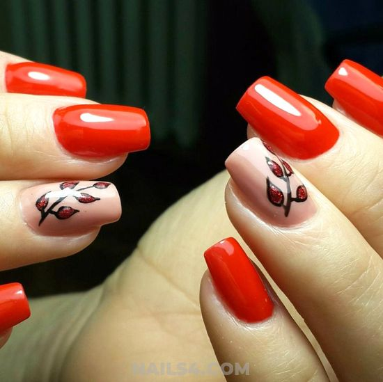 Birthday Lovable American Gel Manicure Art Design - glamour, idea, nail, nailartdesign