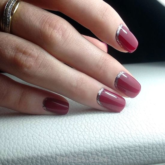 Birthday Trendy French Gel Nail Style - creative, fashion, nail, inspiration