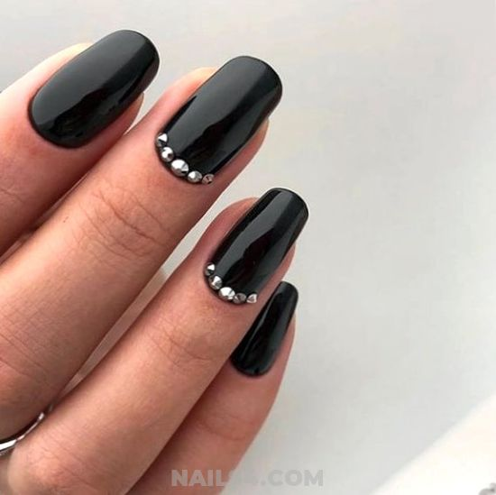 Casual Top Acrylic Nail Ideas - naildiy, naildesigns, nail, adorable