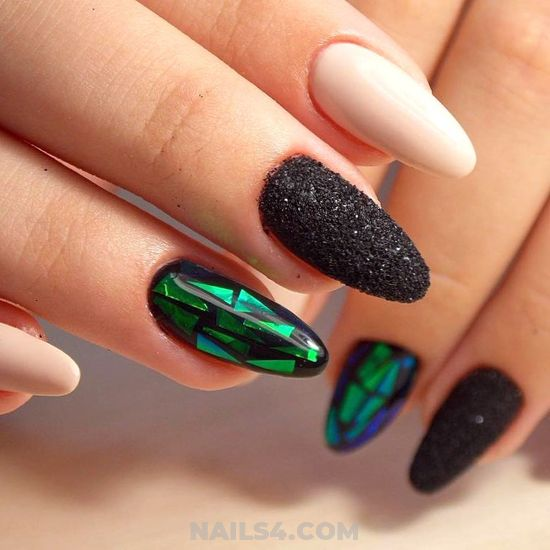 Ceremonial And Lovable Gel Nail Ideas - classic, nailtech, nailidea, nail