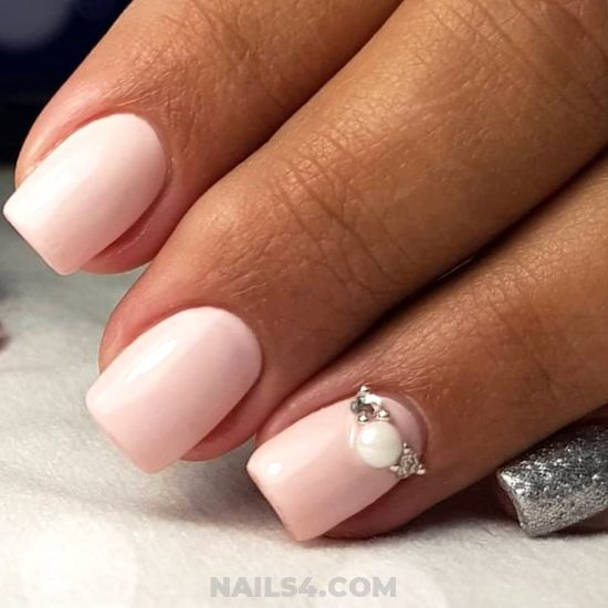 Ceremonial Incredibly Gel Manicure Idea - fashionable, cool, nails, gel