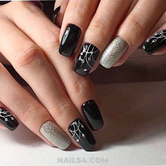 Ceremonial & Lovable Gel Nail Trend - naildiy, elegant, hilarious