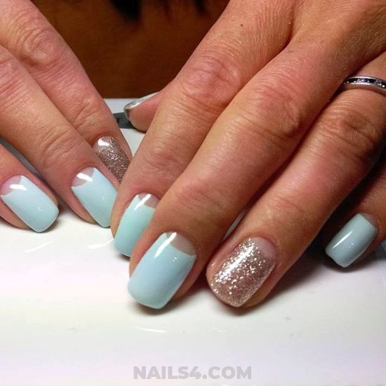 Ceremonial & Nice Acrylic Manicure Style - nailswag, diynailart