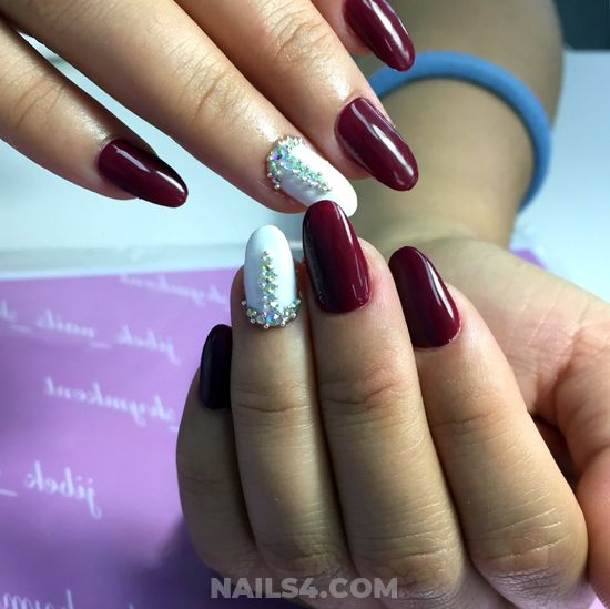 Charming And Hot Gel Manicure Art - gotnails, sweetie, cool