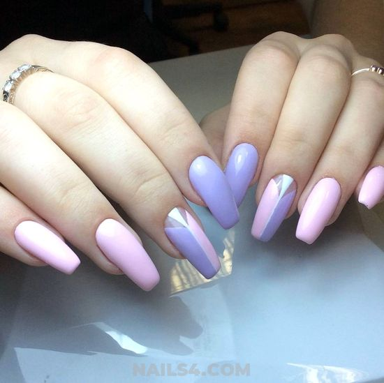 Charming And Incredibly Gel Nails - nails, naildesigns, charming, idea