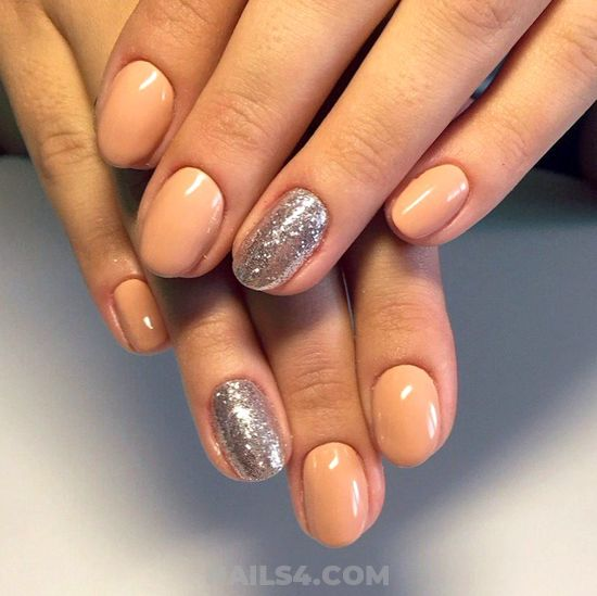 Charming And Loveable Gel Nails - classic, nail, hollywood, perfect