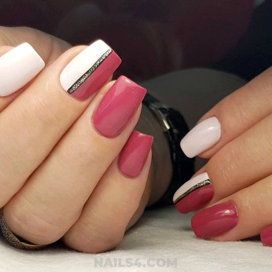 Chic And Pretty Acrylic Manicure Design Ideas - beautytips, super, royal