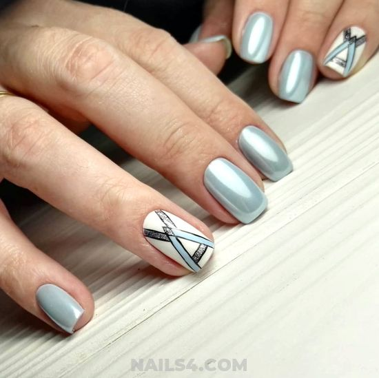 Chic & Professionail Gel Manicure Design Ideas - naildesign, nails, classic, neat