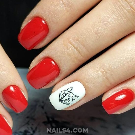 Chic & Stately Gel Nail - nailswag, nail, best, magic, getnails