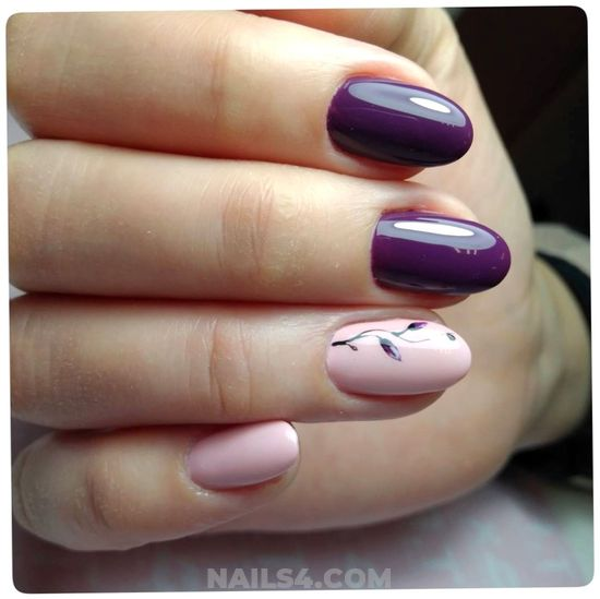 Classic And Incredibly Manicure Trend - nail, lovable, enchanting