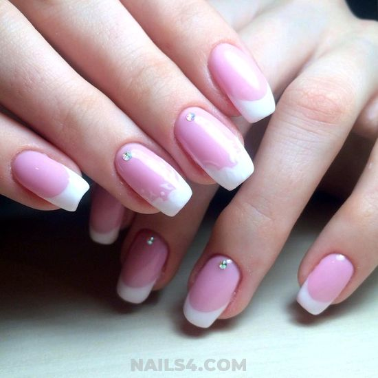 Classic And Trendy Gel Nail Ideas - royal, plush, nails, elegant