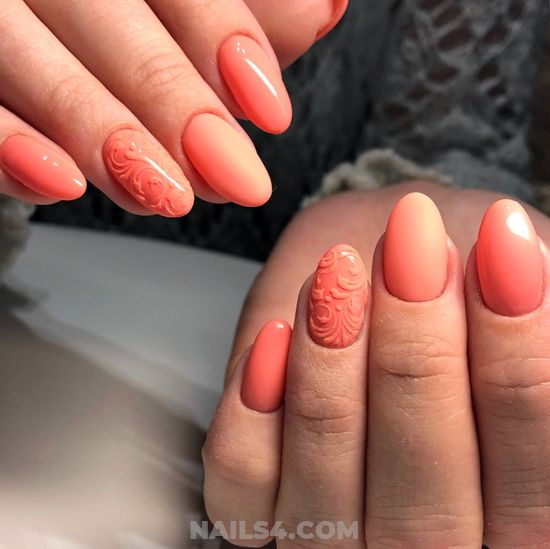 Classic And Trendy Gel Nails Trend - nail, fashion, pretty, idea