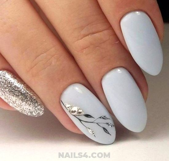 Classic Easy Manicure Idea - love, beauty, nails, graceful, dreamy