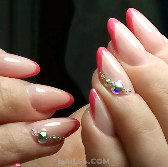 Classic & Inspirational Gel Nail Ideas - cool, nail, gettingnails, lovable