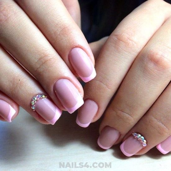 Classic & Trendy Gel Nails Idea - inspiration, nailartdesign, nail