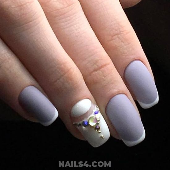 Classy Handy Acrylic Manicure Art Ideas - nails, nailideas, perfect, idea, diy