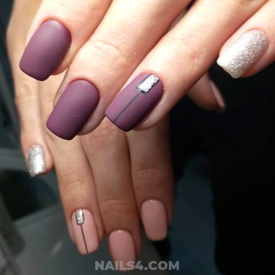 Classy & Pretty American Nails Idea - idea, nice, nailartideas