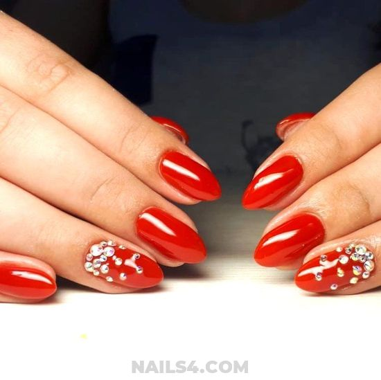 Classy & Wonderful Acrylic Nail Style - nailidea, nails, beauty, diy, glamour