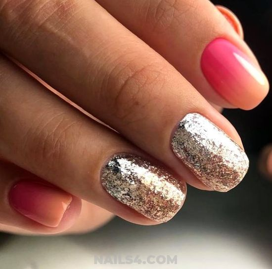 Colorful And Iconic Acrylic Manicure Style - elegant, nails, naildesigns, simple