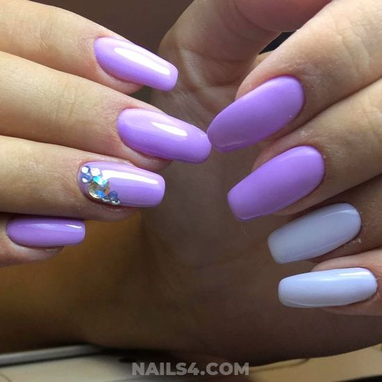 Colorful And Unique French Acrylic Manicure Idea - idea, cute, pretty, nailidea, nails