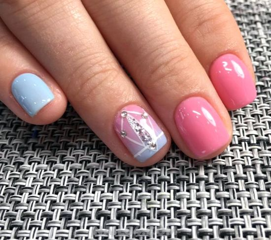 Colorful And Wonderful Acrylic Nail Style - gel, ravishing, nail, nailidea, best