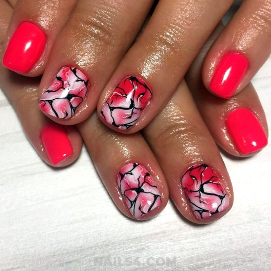Colorful & Stately Acrylic Nails Design - lovable, ideas, naildesigns, nail