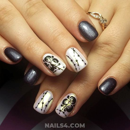 Cool And Inspirational Gel Manicure Style - naildesign, top, design