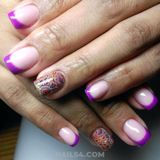 Cool And Loveable Nail Design - attractive, neat, naildesigns, nail