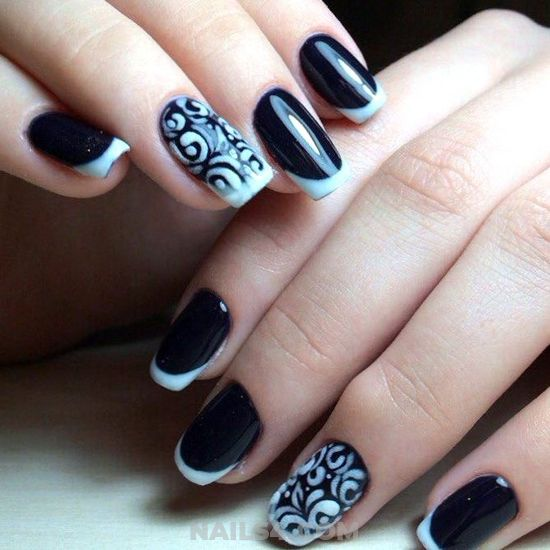 Cool Professionail French Nails Design Ideas - nail, nice, design, gotnails