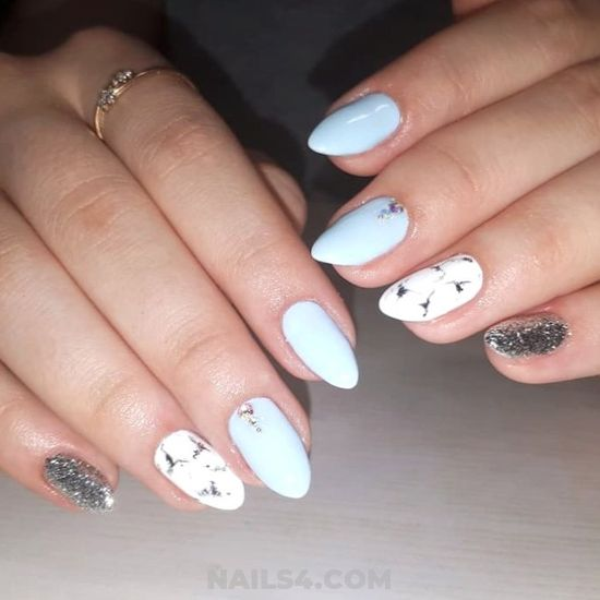 Cool Top Acrylic Nails Art Design - artful, cunning, nail, trendy