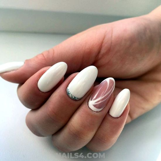 Creative And Nice American Acrylic Manicure Idea - shiny, art, nails, nailartdesigns