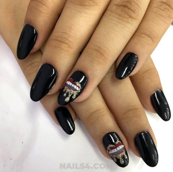 Cute And Glamour Gel Manicure Trend - beautytricks, nails, attractive