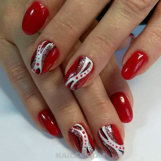 Cute & Lovable Gel Nail Style - diy, art, nailidea, lovable