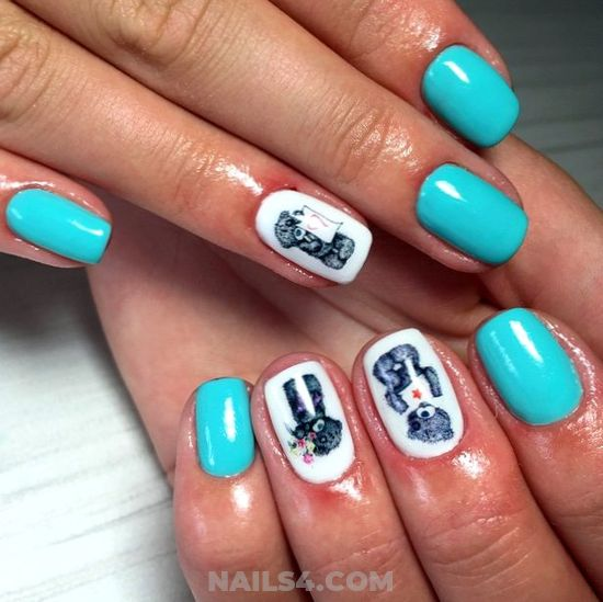Cute Nice Acrylic Nails Art Design - idea, shiny, nail, nailartdesign