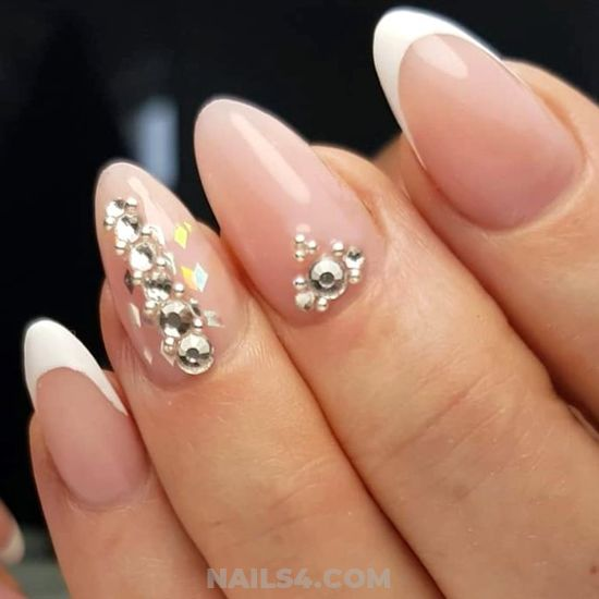 Cute & Stately American Acrylic Manicure Trend - attractive, nail, beautyhacks, super