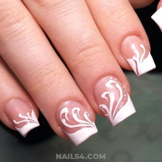 Dainty And Super Gel Nail Art - plush, nails, nailartideas, creative