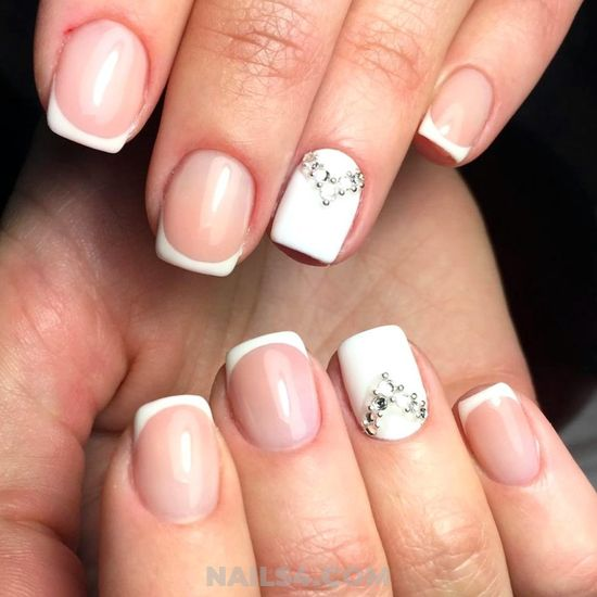Beautiful French Nail Art Designs: 25+ Beautiful French Nail Art Designs For You ⋆ Nails4