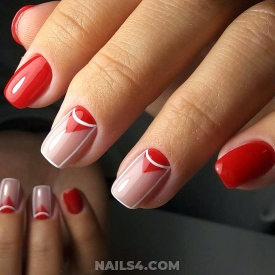 Dainty Nice Gel Nail Style - beautytutorial, magic, nails, love