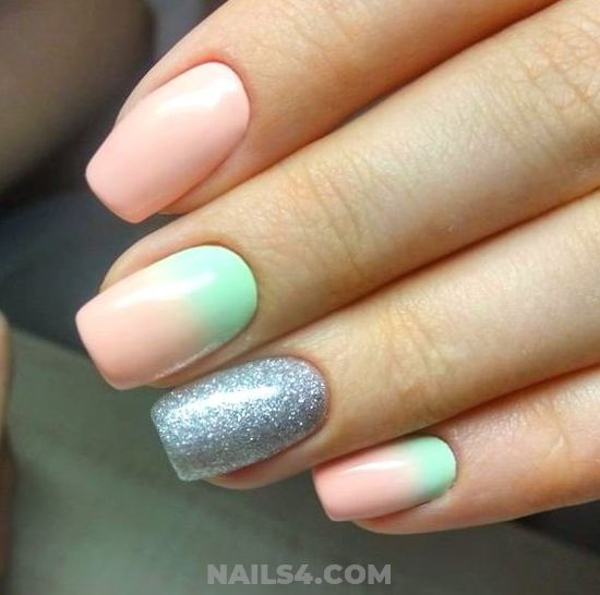 Delightful And Incredibly French Nails Design Ideas - best, gel, nailartideas